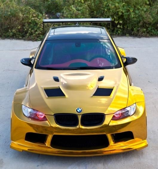 mạ vàng ô tô