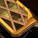 Ốp lưng mạ vàng vỏ hàu cho iPhone 4S