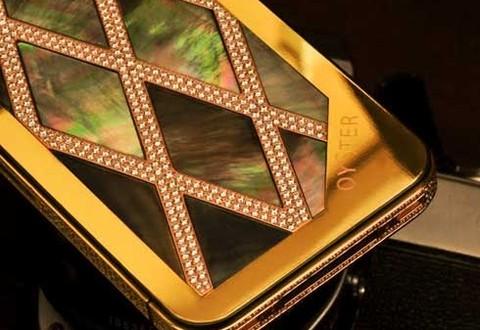 case iphone mạ vàng