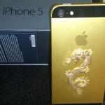 iPhone 5 mạ vàng khảm rồng đầu tiên tại Việt Nam
