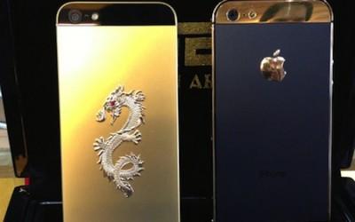 Iphone 5 mạ vàng
