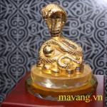 Quà tặng độc đáo linh vật rắn mạ vàng dịp tết quý tỵ 2013