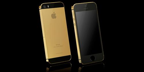 iphone 5 ma vang, mạ vàng 24K cho iphone 5