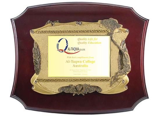 Quà Tặng doanh nghiệp kỷ niệm chương mạ vàng 24k