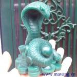 Quy trình chế tác sản phẩm quà tặng rắn mạ vàng năm Quý tỵ 2013
