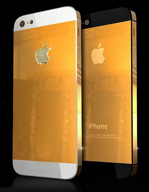 iPhone mạ vàng, nhận mạ vàng iPhone