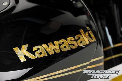Đẳng cấp siêu xe kawasaki mạ vàng