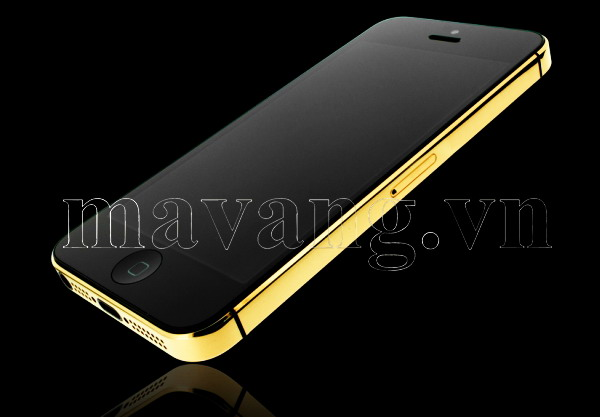 Mạ vàng cho iPhone 5, iphone 5s ma vang 24K