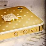 iPhone 4S mạ vàng, đính 215 viên kim cương tại Việt Nam