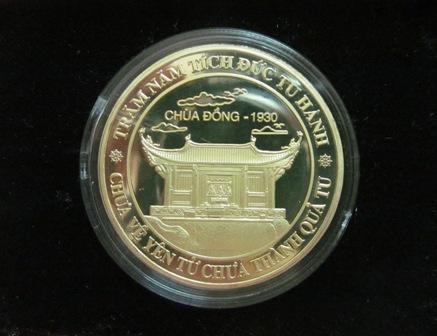 Đồng lộc kim chùa Đồng- Yên Tử