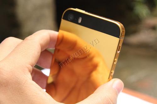 Mạ vàng iPhone 4S, dịch vụ mạ vàng 24K tại Hà Nội