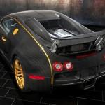 Bugatti Veyron mạ vàng siêu sang