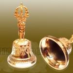 Quà tặng cao cấp chuông mạ vàng