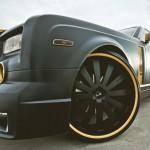 Rolls-Royce Phantom mạ vàng lộng lẫy