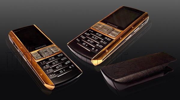 Samsung Ego S9402 mạ vàng 24K hoàn thành sau 36 giờ làm việc.