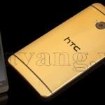 Mạ vàng điện thoại HTC one, HTC Max, HTC one M8