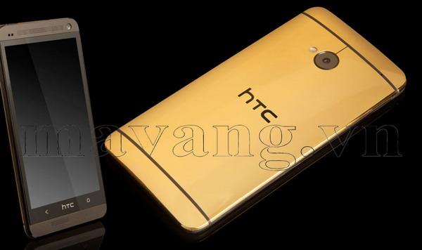 Mạ vàng điện thoại HTC One đẳng cấp 2013