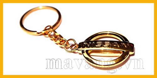 Quà tặng móc khóa mạ vàng