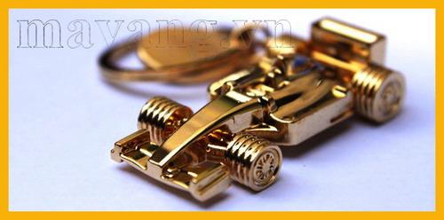 Móc khóa mạ vàng