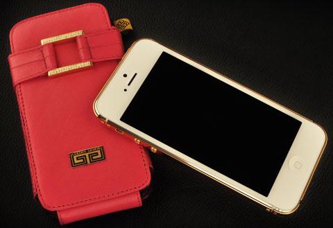 iphone 5s mạ vàng 24K, iphone 5s ma vang