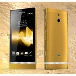 Điện thoại Sony Xperia Z1 mạ vàng bởi Karalux