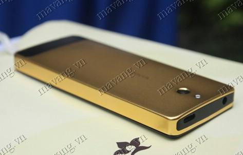 Điện thoại Nokia 515 mạ vàng