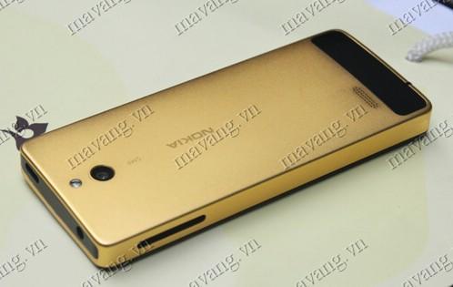 Mạ vàng điện thoại Nokia 515