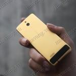 Review Nokia 515 Mạ Vàng: Vỏ nhôm, pin cực bền, giá 2 triệu đồng
