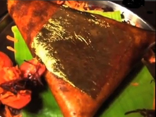 Bánh Gạo Mạ Vàng 24K