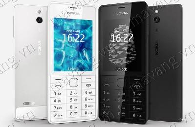 Nokia 515 Hai Sim - Thiết Kế Hoàn Hảo Với Nhôm Mạ Vàng Cao Cấp
