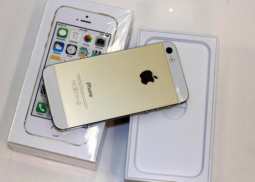 Đập hộp iPhone 5S màu vàng