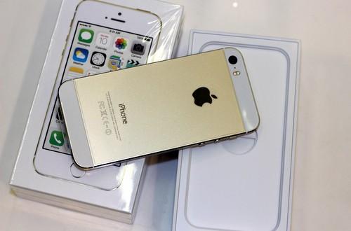 Đập hộp iPhone 5S màu vàng chính hãng Viettel, Vinaphone, FPT