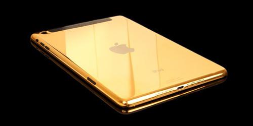 Chi phí để mạ vàng 24K cho iPad Mini Retina giá