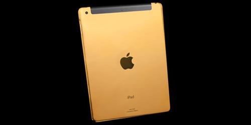 Mạ vàng iPad 24k