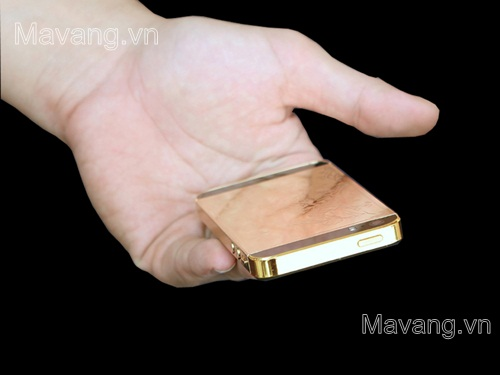 iPhone 5s mạ vàng 24K, điện thoại iphone 5s mạ vàng