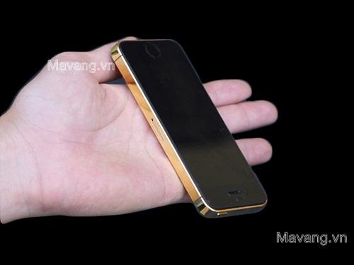 điện thoại IPHONE 5S MẠ VÀNG 24K