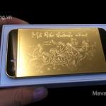 """Ngắm iPhone 5s mạ vàng phiên bản """" Mã đáo thành công """""""