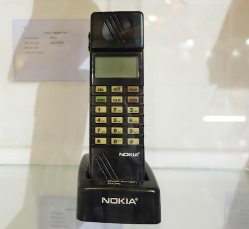 Một trong những điện thoại GSM đầu tiên của Nokia được sản xuất hàng loạt và bán ra trên thị trường năm 1992.