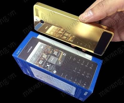 Nokia 515 Mạ Vàng 24K