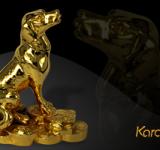 Video linh vật tuổi Tuất phong thủy mạ vàng 24K làm quà tặng Tết 2018
