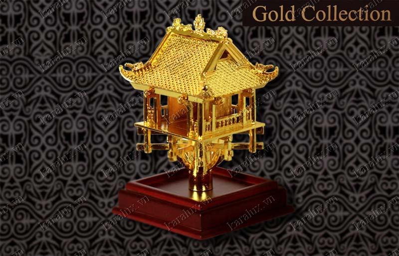 Chùa một cột mạ vàng 24k, Chùa Một Cột, Biểu tượng chùa một cột