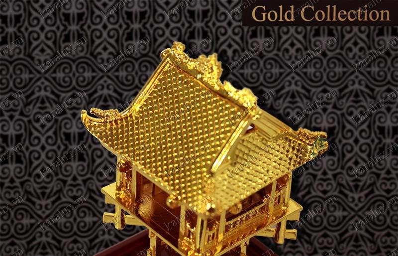 Chùa một cột mạ vàng, quà tặng cao cấp, Biểu tượng chùa một cột