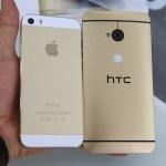 Đập hộp HTC One phiên bản màu vàng