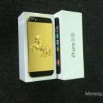 Mạ vàng cho iPhone 5s đón Giáng sinh rinh quà khủng