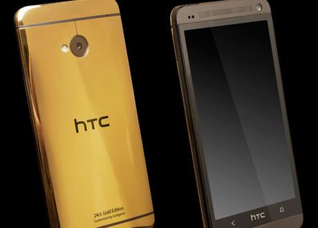 HTC One mạ vàng sang trọng