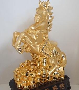Ngựa Trung Quốc, Ngựa giả vàng