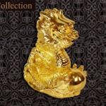 Linh vật Rồng phong thủy mạ vàng chiêu tài giải tam sát