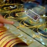 Những biến động của giá vàng ngày 07/01/2014