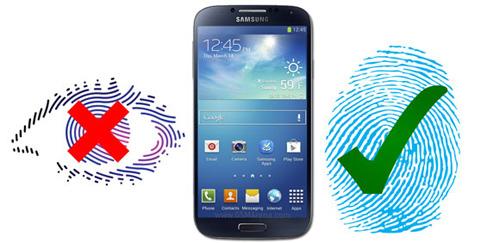 Galaxy S5 duoc cho la se su dung cong nghe cam bien vay tay thay vi quet mat
