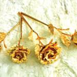 Hoa hồng mạ vàng giá siêu rẻ chỉ là hàng giả